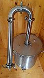 """Самогонный аппарат на 37 литров, резьба1/2"""" кламп под ТЭН 2"""", 2""""  С расширенными возможностями., фото 2"""