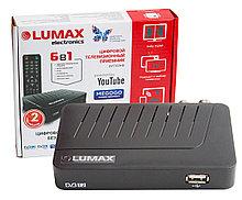 Цифровая ТВ приставка LUMAX DV1103HD, DVB-T2