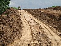 Устройство подстилающих слоев из песка, ПГС, ГПС