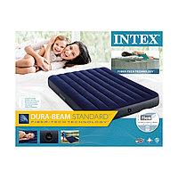 Матрас надувной Intex 64758 (191*137*25 см), полутороспальный матрас