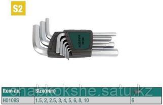 H0109S Набор ключей шестигранных ROSSVIK, 9пр