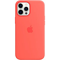 IPhone 12 Pro Max Silicone Case with MagSafe - Pink Citrus