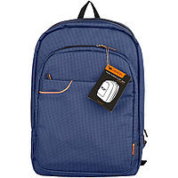 CANYON BP-3 Backpack for 15.6'' laptop,material nylon,blue,435*295*70mm,0.7kg,capacity15L