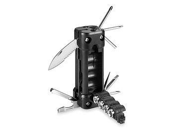 Инструмент 16-в-1 с лазером и фонариком