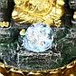 """Фонтан настольный от сети, подсветка """"Ганеша в скале"""" 28х20х20 см, фото 4"""