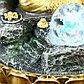 """Фонтан настольный от сети, подсветка """"Ганеша в скале"""" 28х20х20 см, фото 5"""