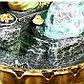 """Фонтан настольный от сети, подсветка """"Ганеша в скале"""" 28х20х20 см, фото 6"""