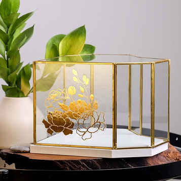 Флорариум «Цветы», 20 х 20 см