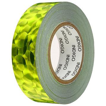 Обмотка для обруча с подкладкой INDIGO 3D BUBBLE 20 мм × 14 м, цвет жёлтый