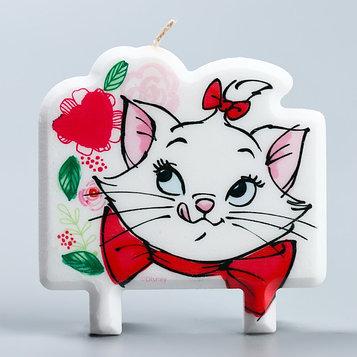 Свеча в торт, Кошка Мари, 8×8 см
