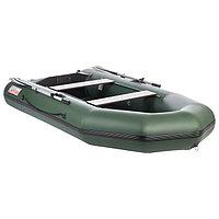 Лодка «Капитан Т310», слань+киль, цвет зелёный