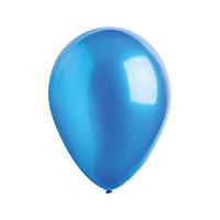 """Шар латексный 5"""", водяные бомбочки, металлик, набор 100 шт., цвет синий"""