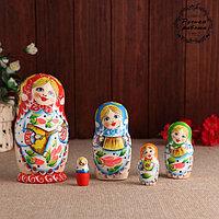 Матрёшка «Народные инструменты» , 5 кукольная 15 см