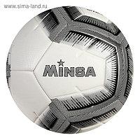 Мяч футбольный MINSA, размер 5, 12 панелей, TPE, 3 подслоя, машинная сшивка, 400 г