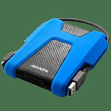 ADATA AHD680-2TU31-CBL Внешний жесткий диск HV320 2TB  USB 3.2 BLUE