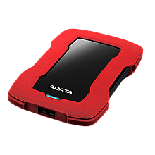 ADATA AHD330-1TU31-CRD Внешний жесткий диск HD330 1TB  USB 3.2 красный