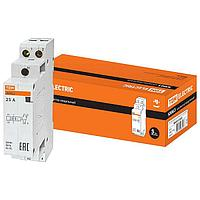 Модульный контактор TDM Electric КМ63/2 2P 25А 400/230В AC, SQ0213-0007