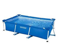 Каркасный прямоугольный бассейн  Intex