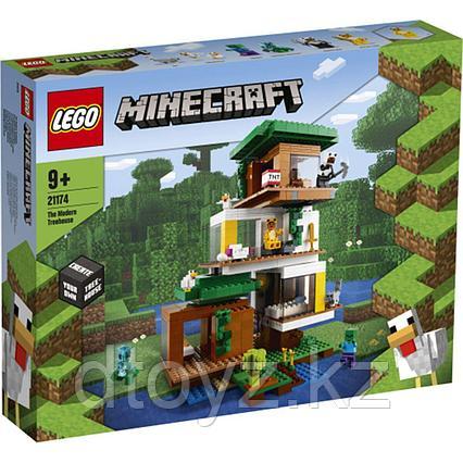 Lego Minecraft Современный домик на дереве 21174