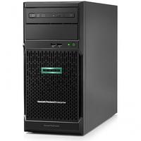 Сервер HP Enterprise/ML30 Gen10/1/Xeon/E-2224 (4C/4T 8Mb)/3,4 GHz/1x16Gb/S100i/0,1,5,10/SATA only/4LFF/2x1GbE/, фото 1