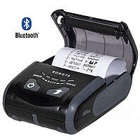 Принтер чеков мобильный Rongta RPP200 BU (Bluetooth+USB)