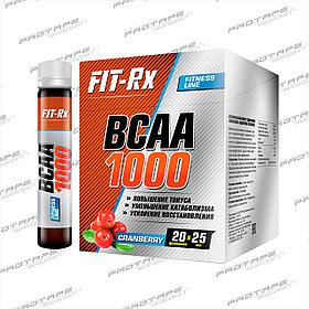 Аминокислотный комплекс FitRx BCAA 1000 20х25мл.
