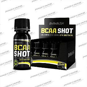 Комплекс аминокислот BCAA mega SHOT 20 бут. Х 60мл.  /  BioTech EU