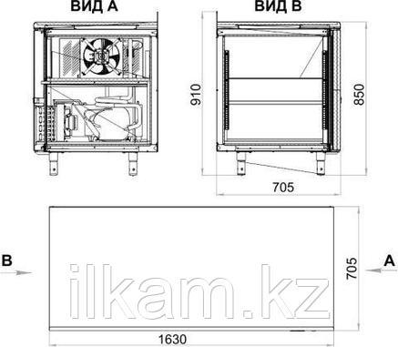 Холодильный стол POLAIR TM3-G, фото 2