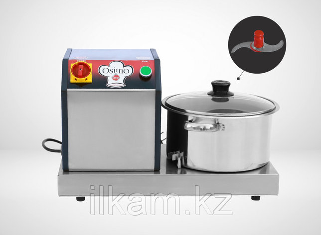 Куттер для овощей и мяса 8 литров. Турция, фото 2