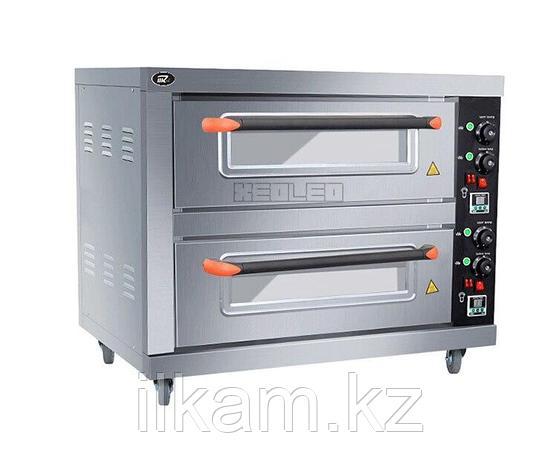 Шкаф пекарский электрический 2 уровневый (Печи для выпечки, Жарочный шкаф, Печь для выпечки хлеба), фото 2