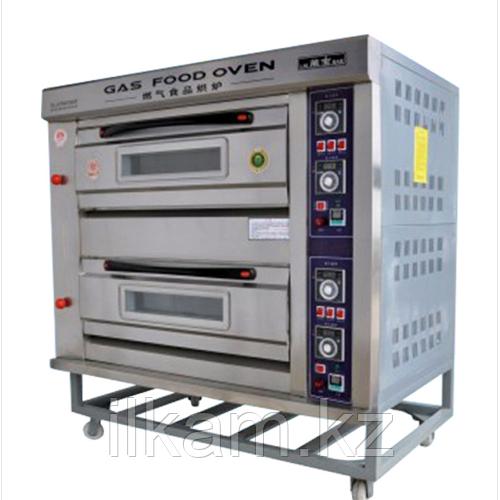 Жарочный шкаф 2-секционный газовый