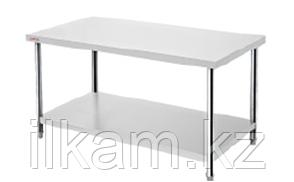 Производственный стол промышленный с полкой 180 см