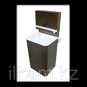 Умывальник для дачи с водонагревателем, пластиковая раковина, фото 2