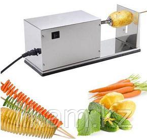 Аппарат для нарезки спиральных чипсов промышленный электрический. Чипсорезка, фото 2