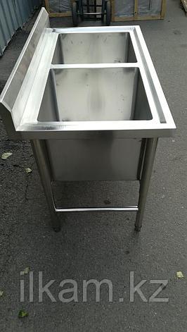Ванна моечная 2-секционная Глубокая 40 см, фото 2