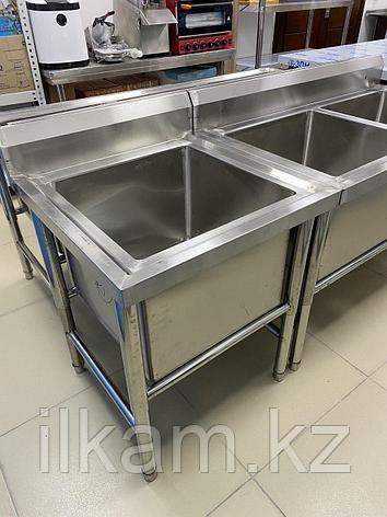 Ванна моечная промышленная 1-секционная Глубокая, фото 2