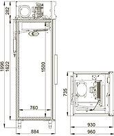 Холодильный шкаф POLAIR CB107-S