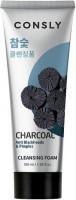 Consly Пенка для лица c древесным углем против черных точек Charcoal Anti Blackheads & Pimples Foam / 100 мл.