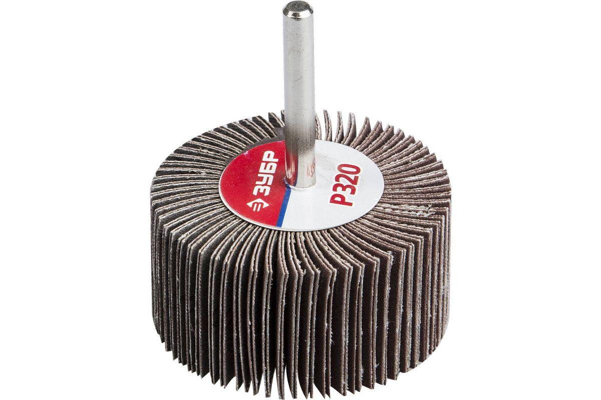 Шарошка ЗУБР 36602-320 МАСТЕР зерно-электрокорунд нормальный Р320 30х60мм
