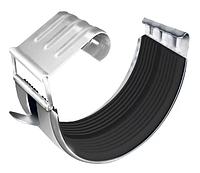 Соединитель желобов Ø125 мм 0,7 мм усиленный RAL 9003 Белый