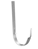 Держатель желоба Ø125  длинный 280 мм RAL 9003 Белый