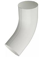 Колено сливное штампованное 60 гр Ø100 мм 0,5 RAL 9003 Белый