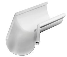 Угол желоба внутренний 135 гр Ø125 мм  0,5 RAL 9003 Белый