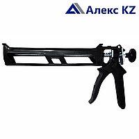 Пистолет для герметиков полукорпусной пласт.310мм гладкий шток SL
