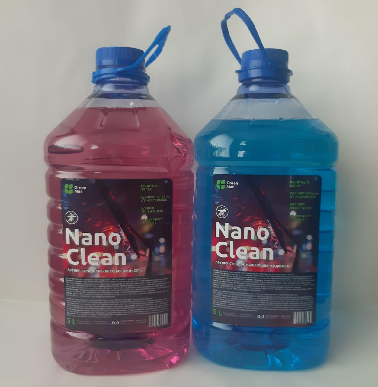 Стеклоомыватель Nano Clean летний 5л - фото 3