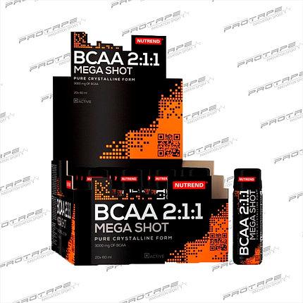 Аминокислотный комплекс Nutrend BCAA shot 20x60мл., фото 2