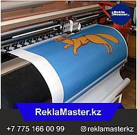 Печать на флажной ткани (наружного применения)