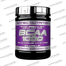 Аминокислотный комплекс Scitec Nutrition BCAA 1000 300 капс.