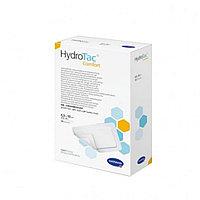 ГидроТак комфорт (HydroTac comfort), Самоклеящаяся губчатая повязка с гидрогелевым покрытием, 6,5х10 см