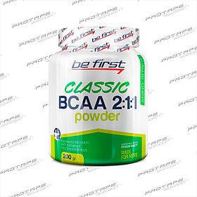 Аминокислотный комплекс Be First BCAA 2:1:1 CLASSIC powder 500 гр